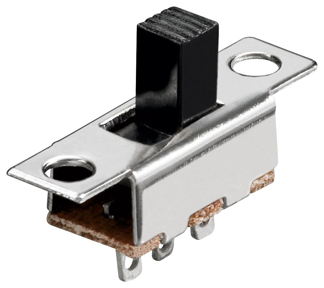 10x-Schiebeschalter-3-Pins-1xUM-Lochabstaende-15-mm